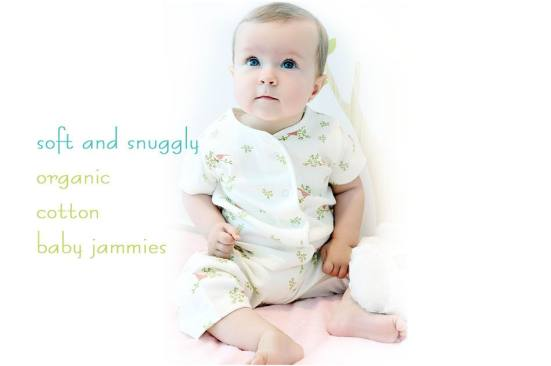 Baby Essentials - organic cotton baby jammies