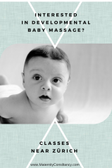 Interested in Developmental Baby Massage class near Zürich?