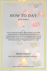 Consultation and how to day withMarta