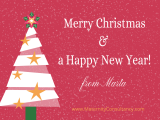 Merry Christmas and Happy NewYear!